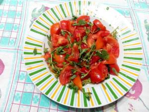 insalata mista con portulaca