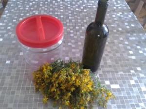 olio di iperico fiori olio